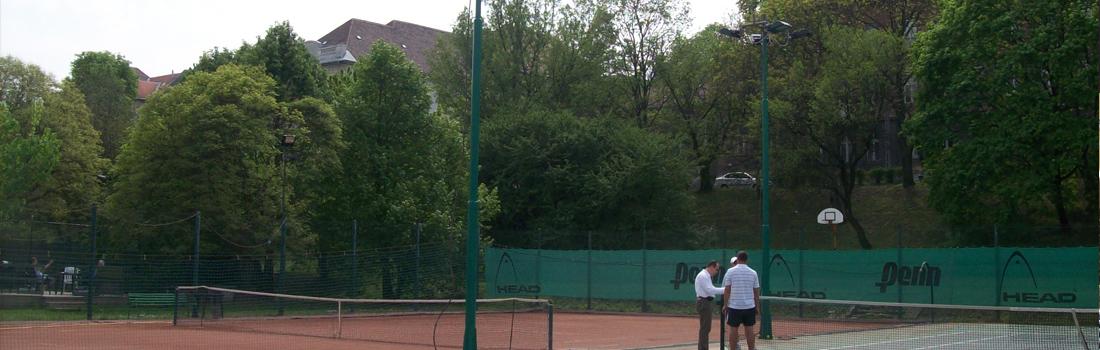Városmajori teniszpálya világítása